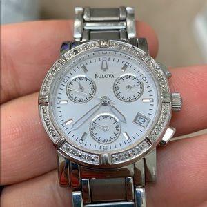 Bulova Silver Watch